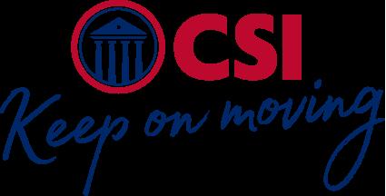 CSI keep on moving